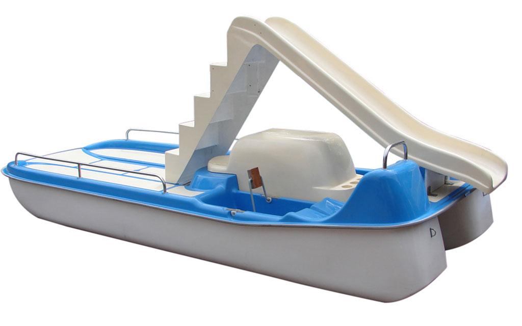 Rower wodny model 460, 6-osobowy ze zjeżdżalnią