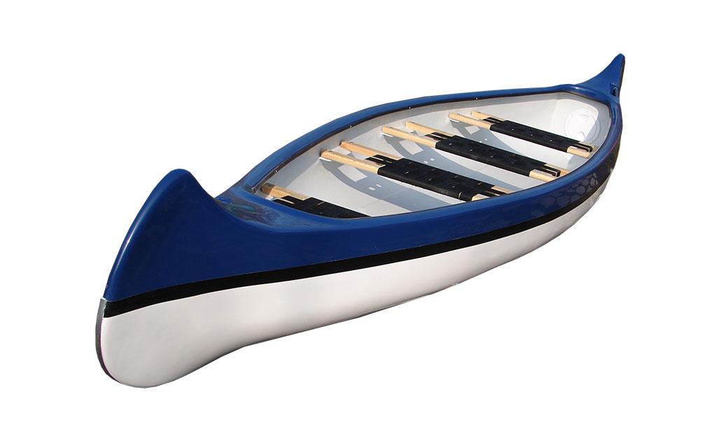 Canoe 4-osobowa model IV