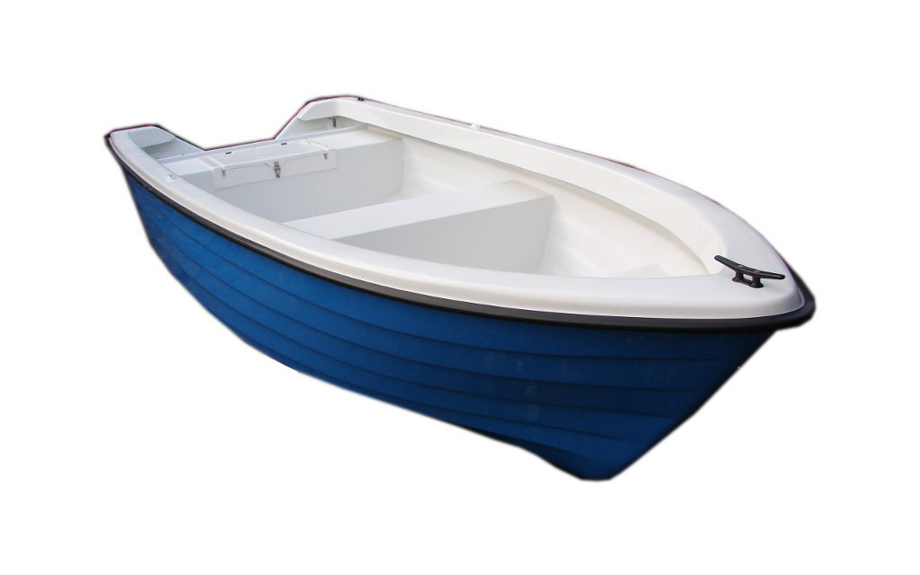 Rowing motor boat 410 - 5-person